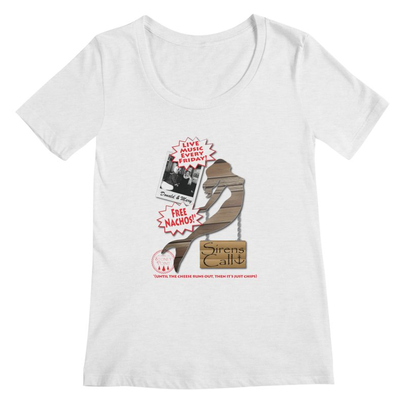 Sirens Call Women's Regular Scoop Neck by OniiChan's Artist Shop