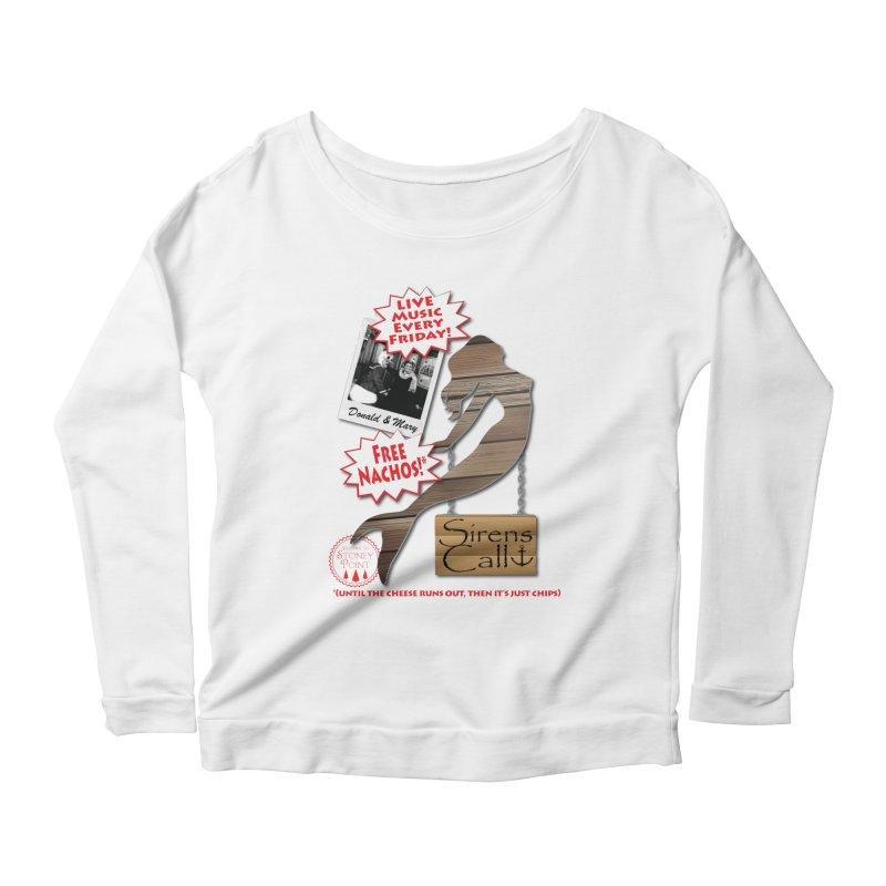 Sirens Call Women's Scoop Neck Longsleeve T-Shirt by OniiChan's Artist Shop