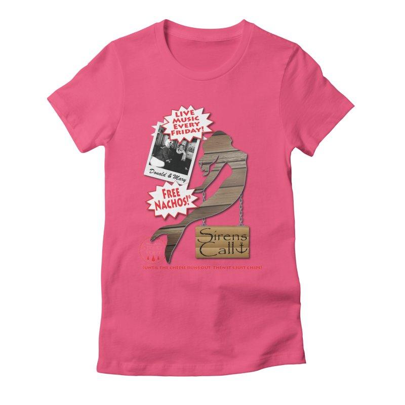 Sirens Call Women's Fitted T-Shirt by OniiChan's Artist Shop