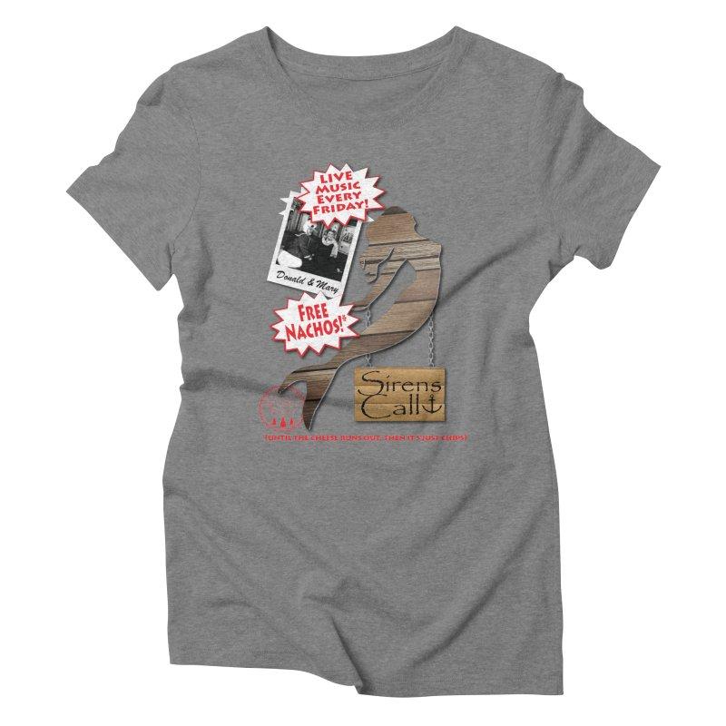 Sirens Call Women's Triblend T-Shirt by OniiChan's Artist Shop