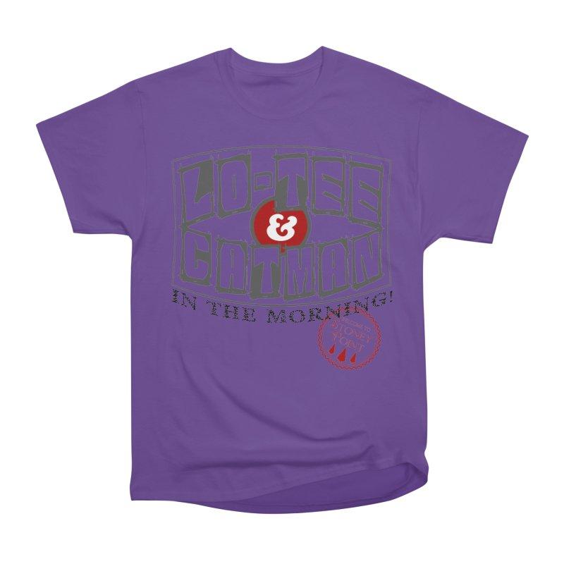 Low-Tee & Catman ion the morning Women's Heavyweight Unisex T-Shirt by OniiChan's Artist Shop