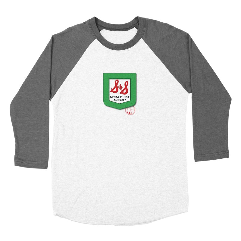 Shop N Stop! Women's Baseball Triblend Longsleeve T-Shirt by OniiChan's Artist Shop