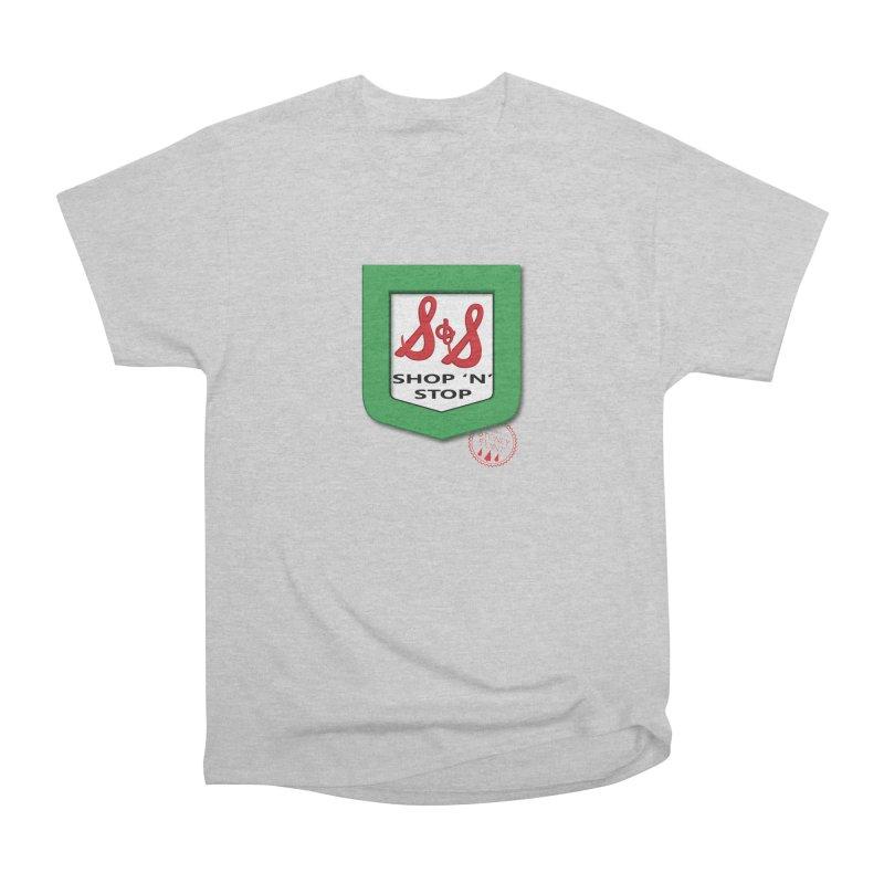 Shop N Stop! Women's Heavyweight Unisex T-Shirt by OniiChan's Artist Shop