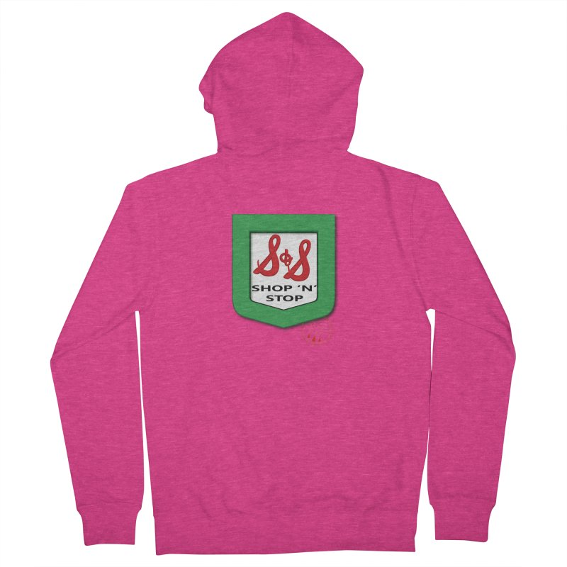 Shop N Stop! Women's French Terry Zip-Up Hoody by OniiChan's Artist Shop