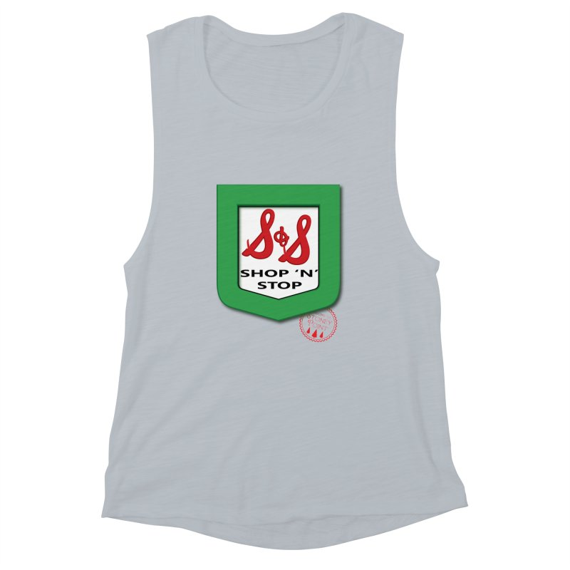 Shop N Stop! Women's Muscle Tank by OniiChan's Artist Shop