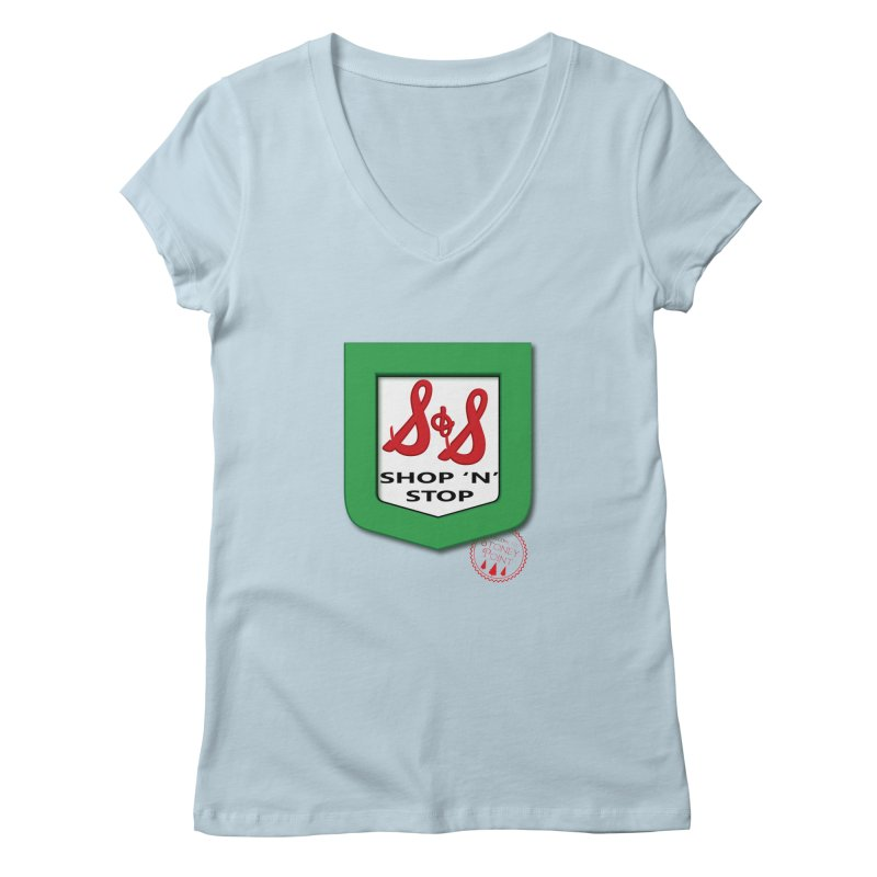 Shop N Stop! Women's Regular V-Neck by OniiChan's Artist Shop