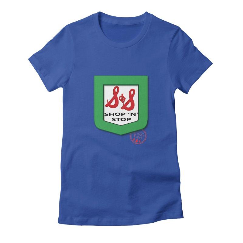 Shop N Stop! Women's Fitted T-Shirt by OniiChan's Artist Shop