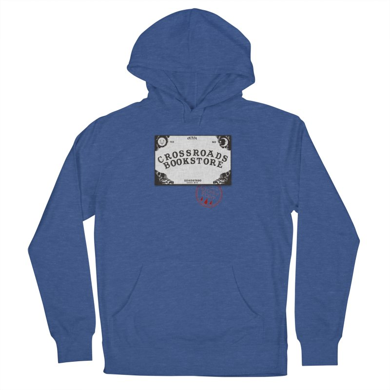 Crossroads Bookstore Men's French Terry Pullover Hoody by OniiChan's Artist Shop
