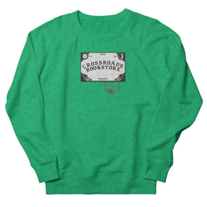 Crossroads Bookstore Women's French Terry Sweatshirt by OniiChan's Artist Shop