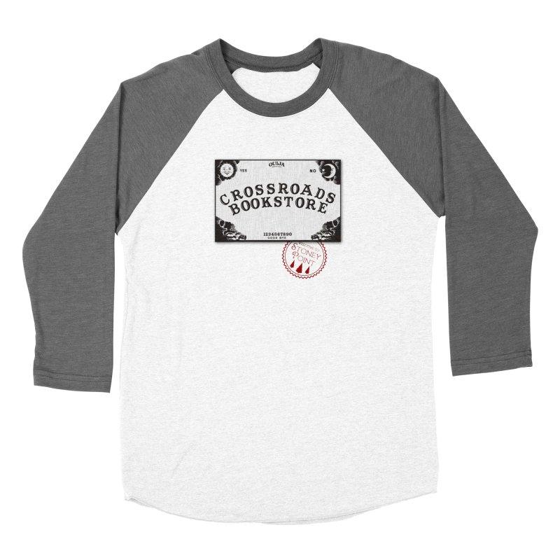 Crossroads Bookstore Women's Baseball Triblend T-Shirt by OniiChan's Artist Shop