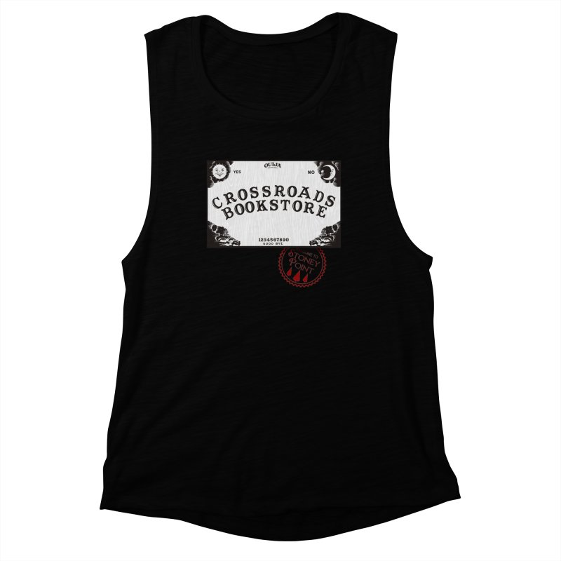 Crossroads Bookstore Women's Muscle Tank by OniiChan's Artist Shop