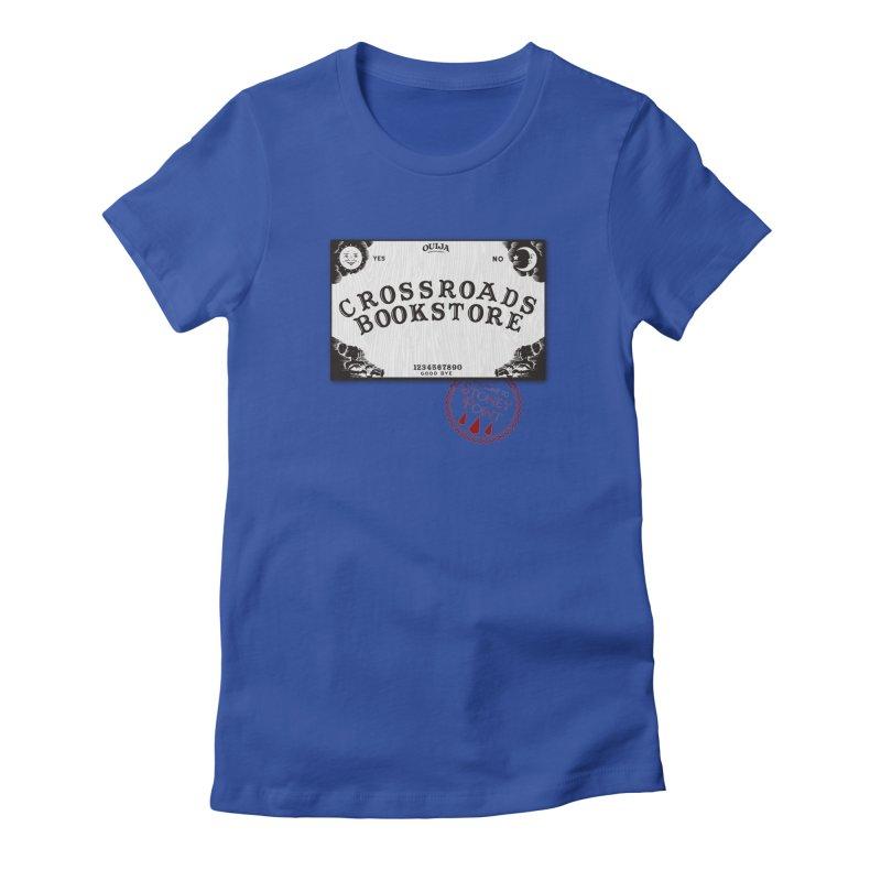 Crossroads Bookstore Women's Fitted T-Shirt by OniiChan's Artist Shop