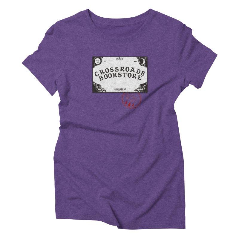 Crossroads Bookstore Women's Triblend T-shirt by OniiChan's Artist Shop