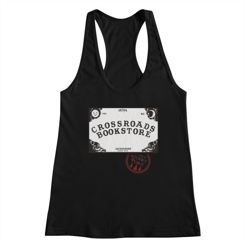 Crossroads Bookstore Women's Racerback Tank by OniiChan's Artist Shop