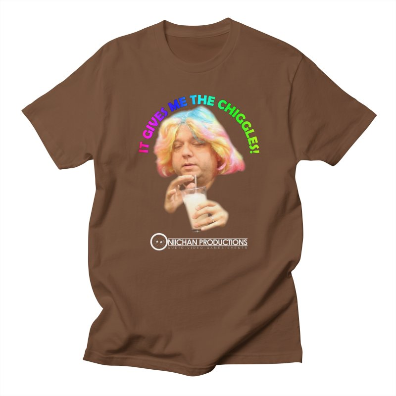 It Gives Me the Chiggles! Men's T-Shirt by OniiChan's Artist Shop
