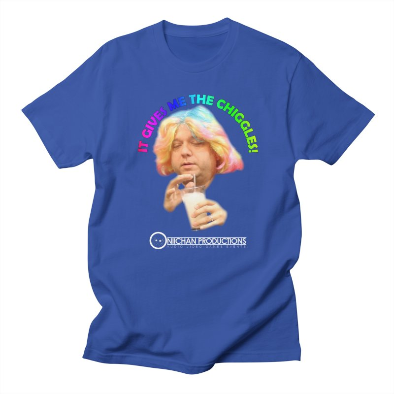 It Gives Me the Chiggles! Men's Regular T-Shirt by OniiChan's Artist Shop