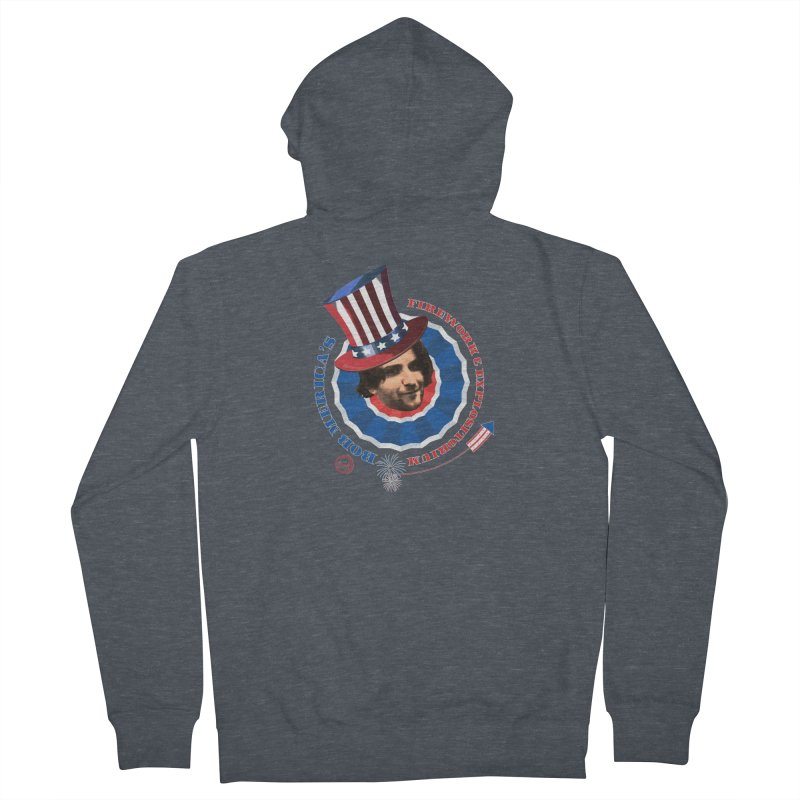 Bob Merica Women's French Terry Zip-Up Hoody by OniiChan's Artist Shop