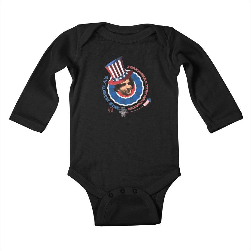Bob Merica Kids Baby Longsleeve Bodysuit by OniiChan's Artist Shop