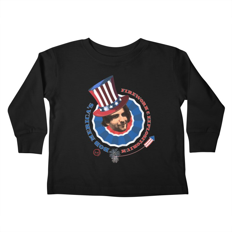Bob Merica Kids Toddler Longsleeve T-Shirt by OniiChan's Artist Shop
