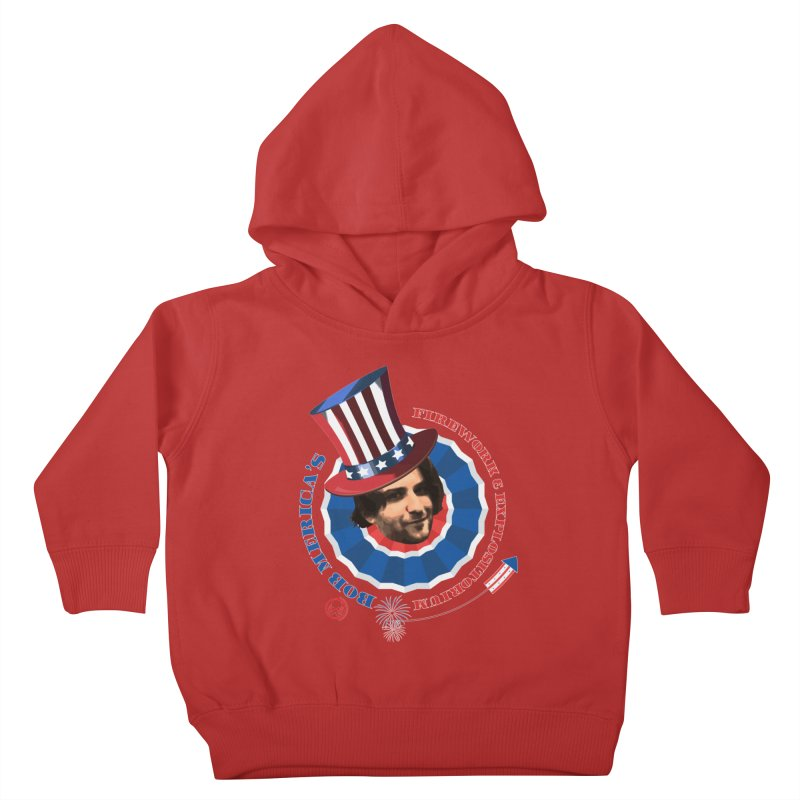 Bob Merica Kids Toddler Pullover Hoody by OniiChan's Artist Shop