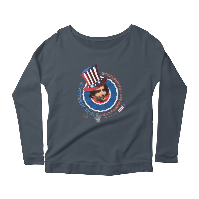 Bob Merica Women's Scoop Neck Longsleeve T-Shirt by OniiChan's Artist Shop