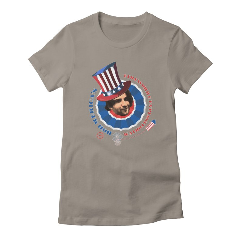 Bob Merica Women's Fitted T-Shirt by OniiChan's Artist Shop