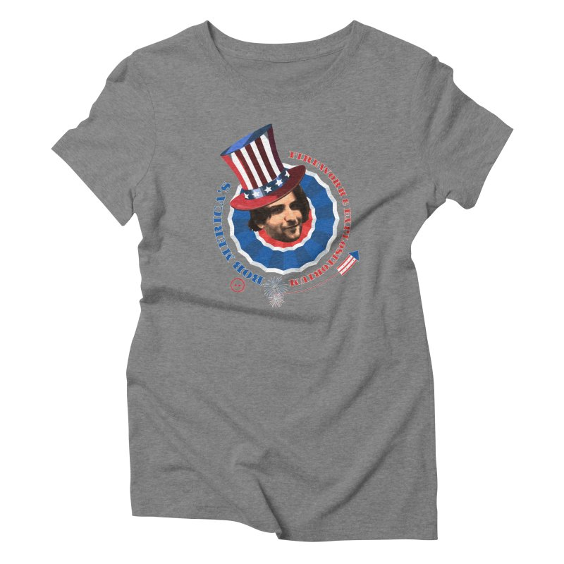 Bob Merica Women's Triblend T-Shirt by OniiChan's Artist Shop
