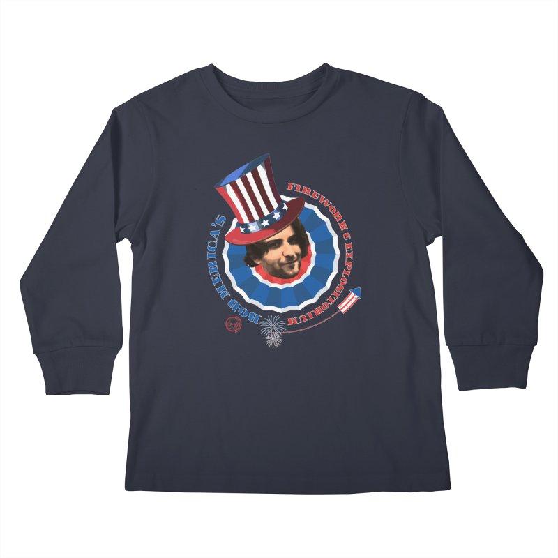 Bob Merica Kids Longsleeve T-Shirt by OniiChan's Artist Shop