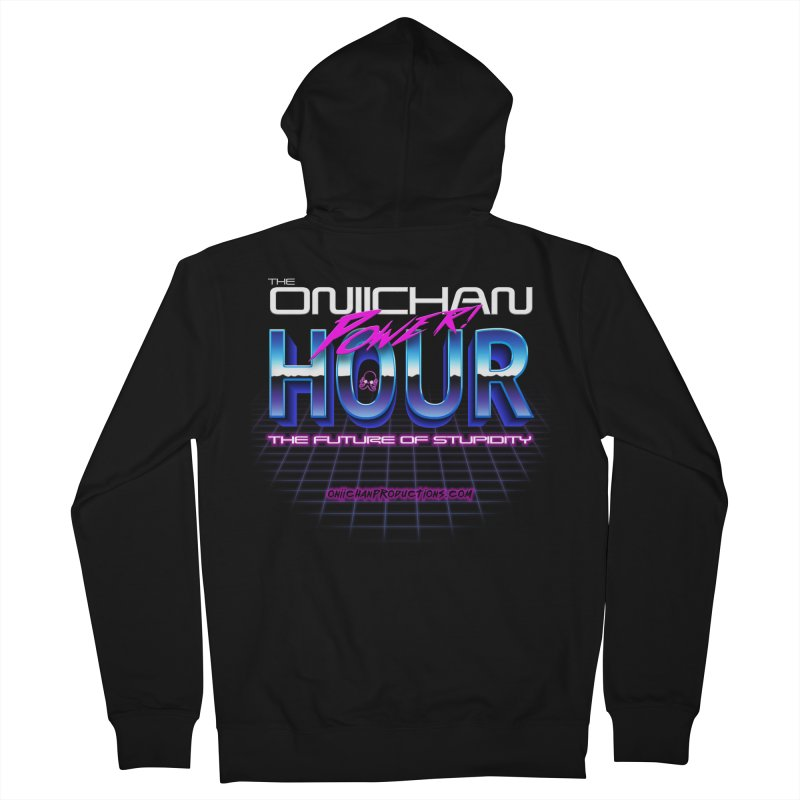 Oniichan Power Hour Women's French Terry Zip-Up Hoody by OniiChan's Artist Shop
