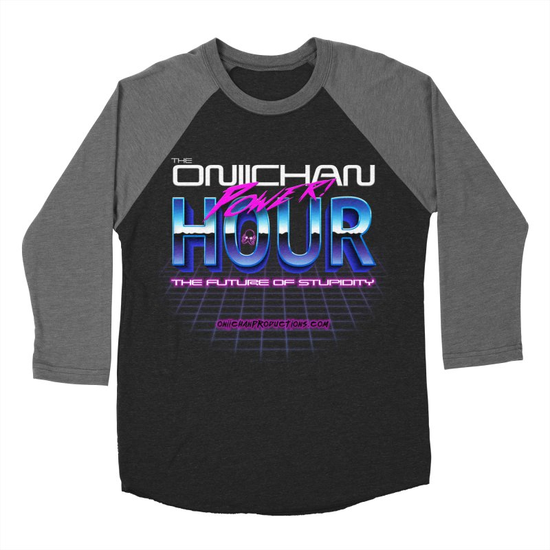 Oniichan Power Hour Men's Baseball Triblend Longsleeve T-Shirt by OniiChan's Artist Shop