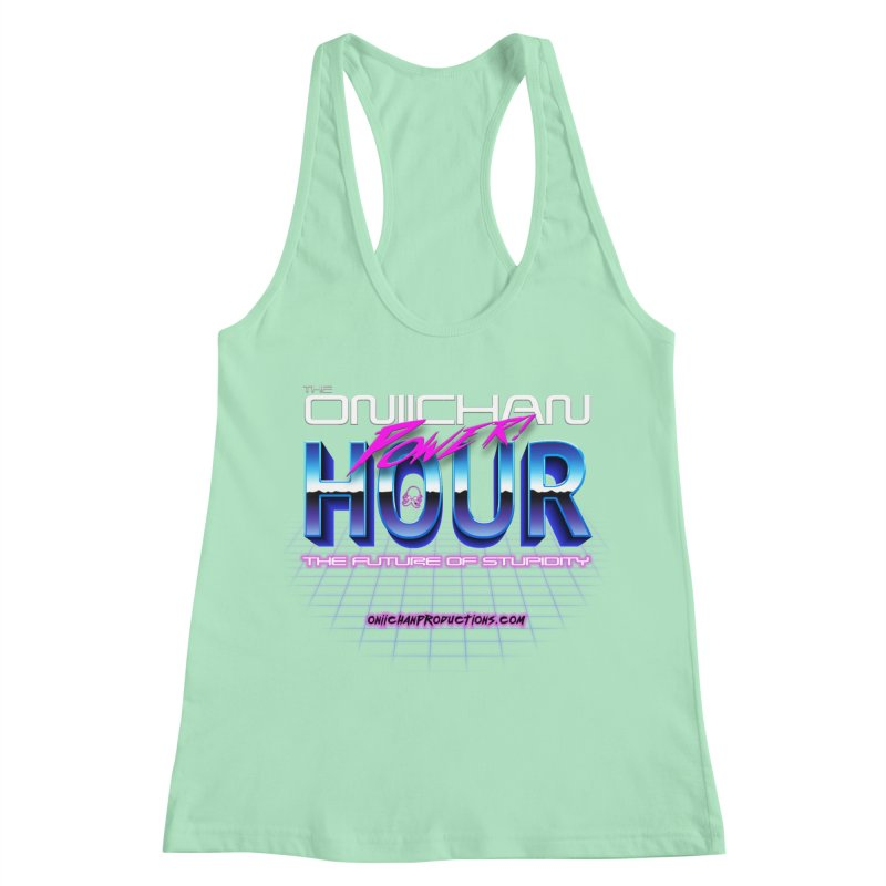 Oniichan Power Hour Women's Racerback Tank by OniiChan's Artist Shop