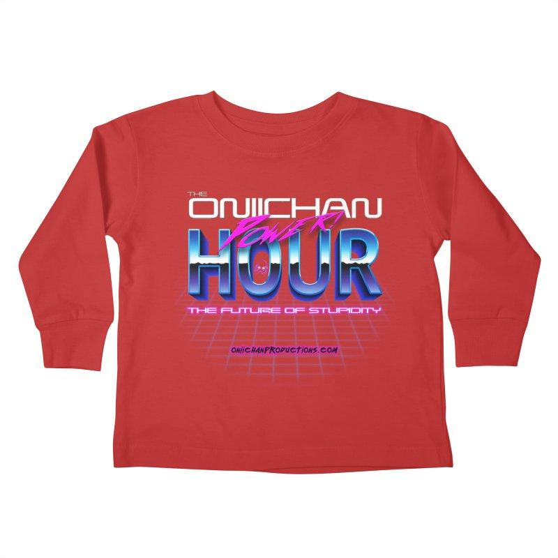 Oniichan Power Hour Kids Toddler Longsleeve T-Shirt by OniiChan's Artist Shop