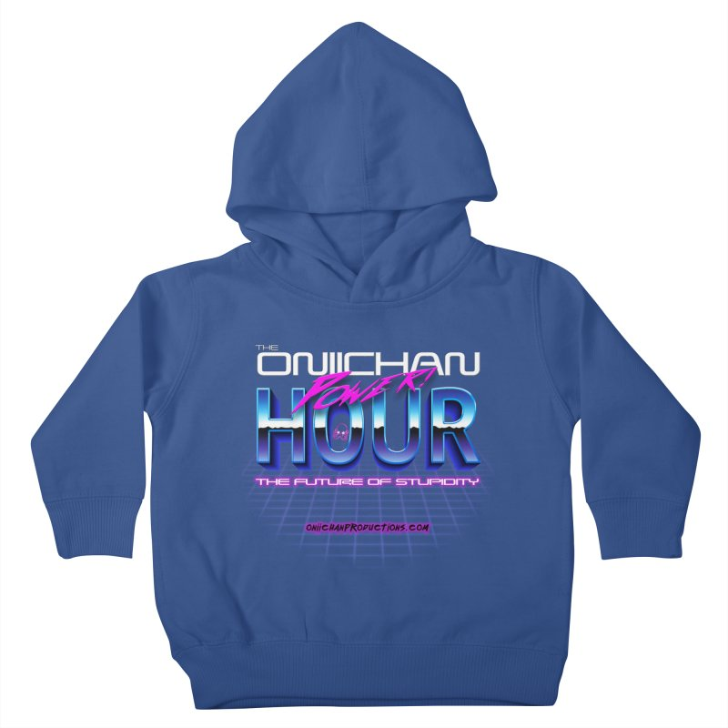Oniichan Power Hour Kids Toddler Pullover Hoody by OniiChan's Artist Shop