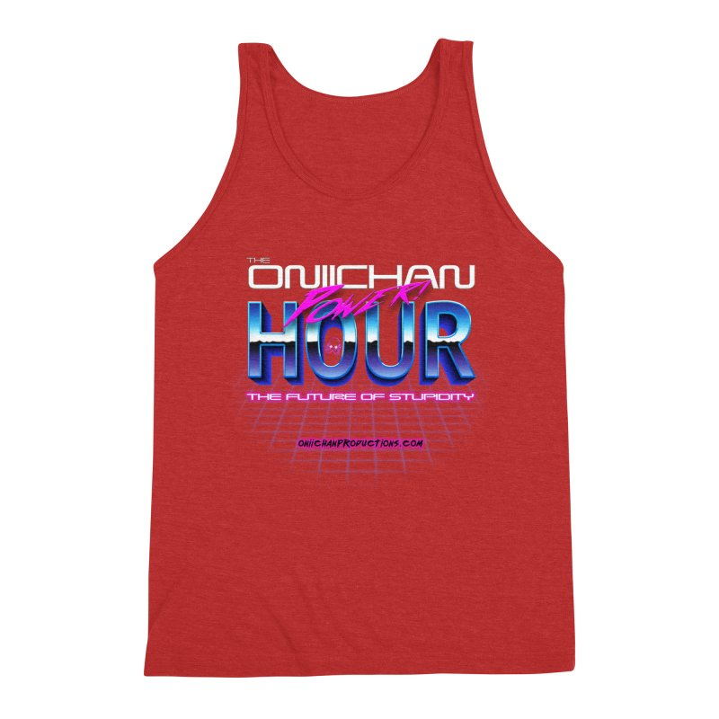 Oniichan Power Hour Men's Triblend Tank by OniiChan's Artist Shop