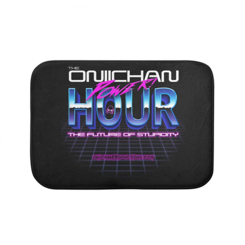 Oniichan Power Hour Home Bath Mat by OniiChan's Artist Shop