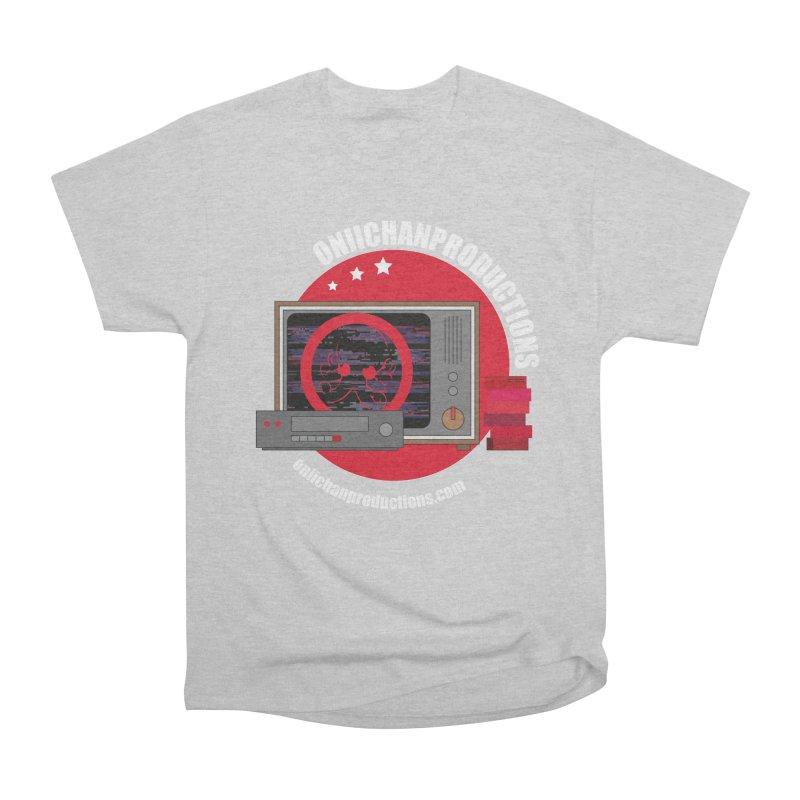 VHS TV Men's Heavyweight T-Shirt by OniiChan's Artist Shop