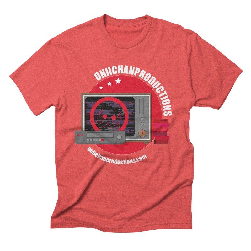 VHS TV Men's Triblend T-Shirt by OniiChan's Artist Shop