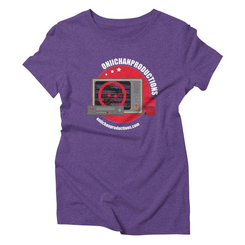 VHS TV Women's Triblend T-Shirt by OniiChan's Artist Shop