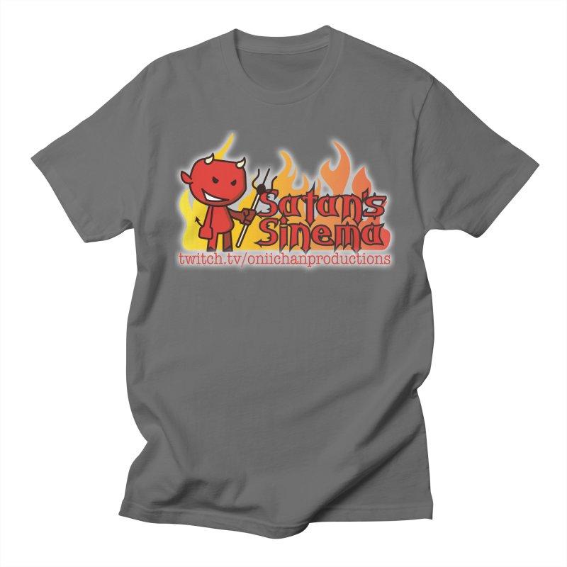 Satan's Sinema Men's T-Shirt by OniiChan's Artist Shop