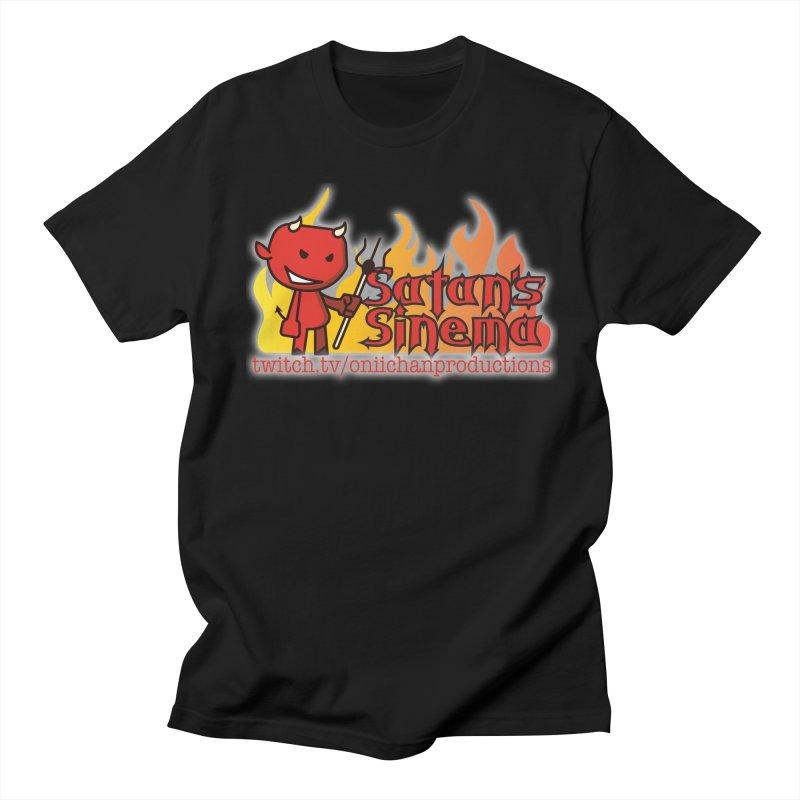 Satan's Sinema Men's Regular T-Shirt by OniiChan's Artist Shop
