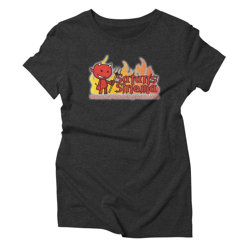 Satan's Sinema Women's Triblend T-Shirt by OniiChan's Artist Shop