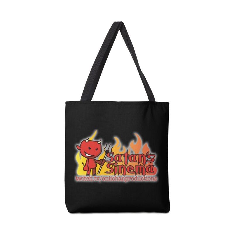 Satan's Sinema Accessories Tote Bag Bag by OniiChan's Artist Shop