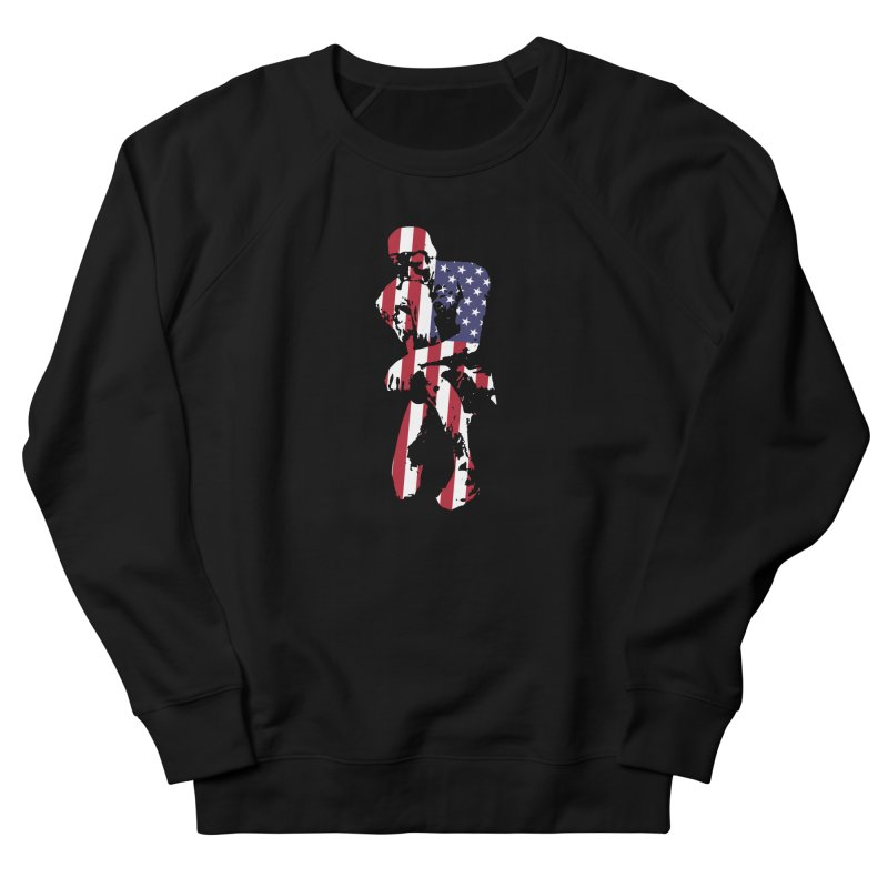 Thinking Knee Women's French Terry Sweatshirt by On the Gears