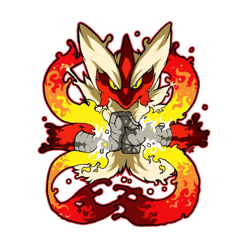 Pokemon Mega Blaziken Ookamikemonos Artist Shop