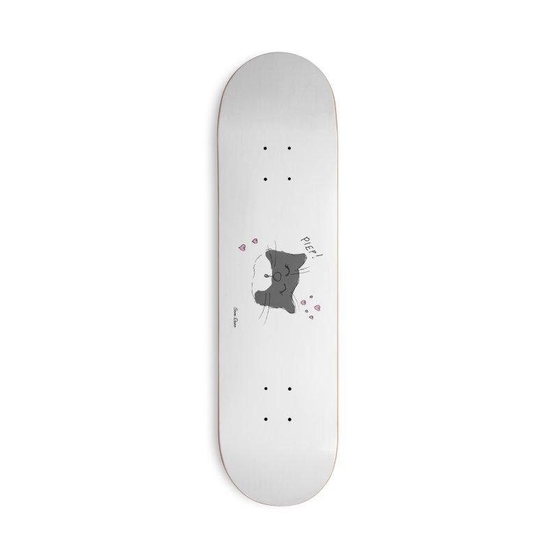 Piepie met hartjes Accessories Skateboard by Oom Dano's Winkeltje