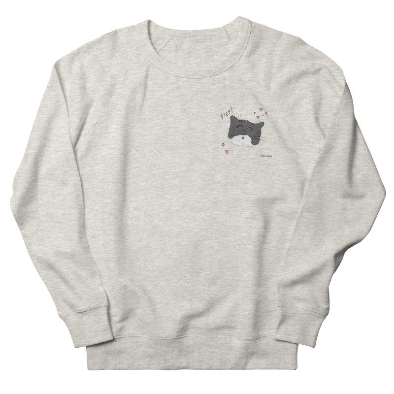 Piepie met hartjes Men's Sweatshirt by Oom Dano's Winkeltje