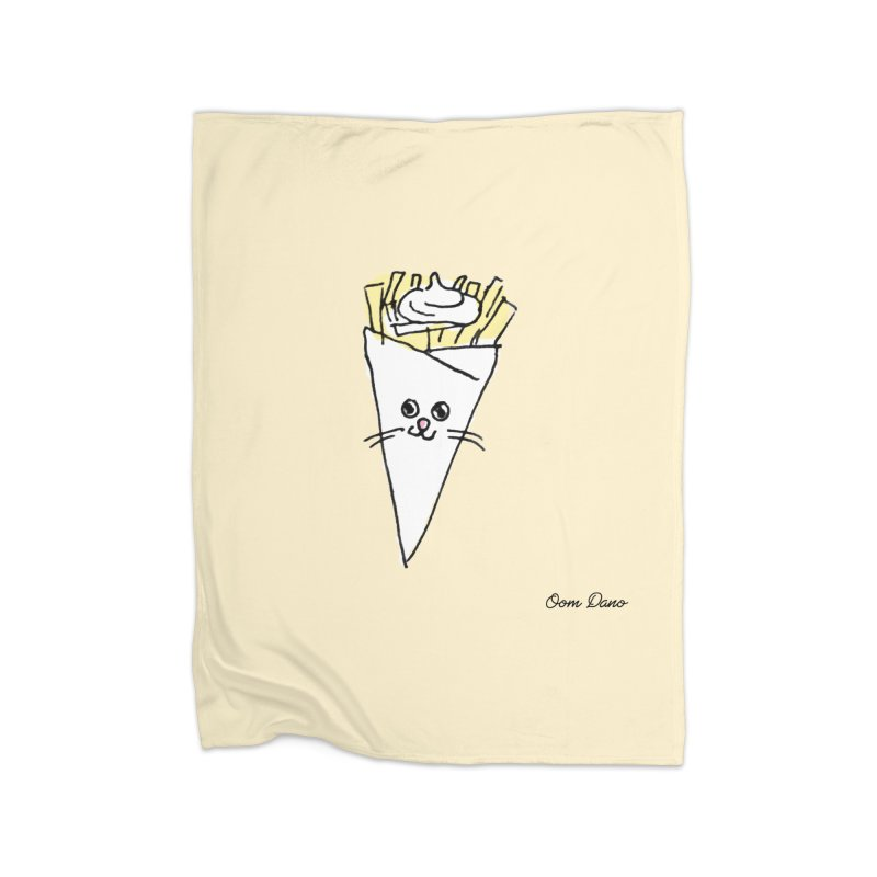 Piepie als schattepatatje Home Blanket by Oom Dano's Winkeltje