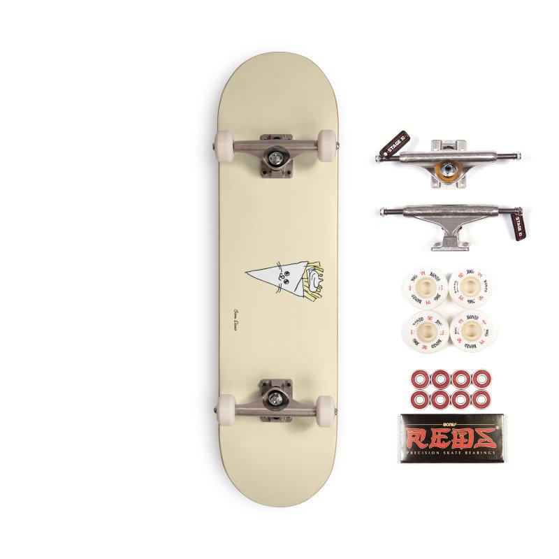 Piepie als schattepatatje Accessories Skateboard by Oom Dano's Winkeltje