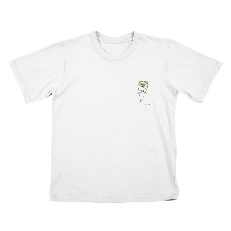 Piepie als schattepatatje Kids T-Shirt by Oom Dano's Winkeltje