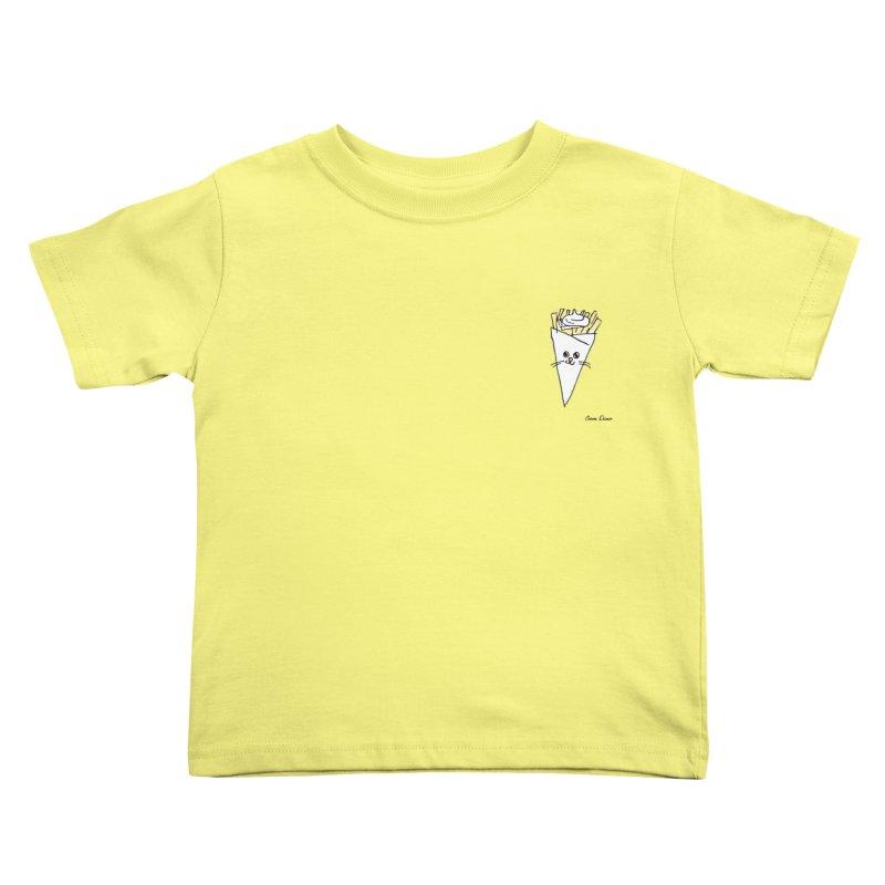 Piepie als schattepatatje Kids Toddler T-Shirt by Oom Dano's Winkeltje